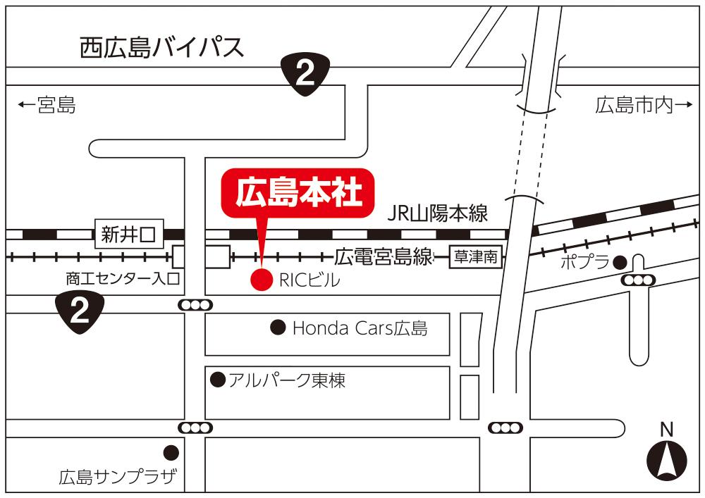 リック本社 地図