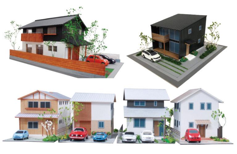 1/100サイズ住宅模型